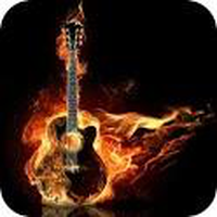 Ícone do Papel de Parede Guitarra legal