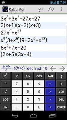 MathAlly Graphing Calculator Screenshot Apk 2