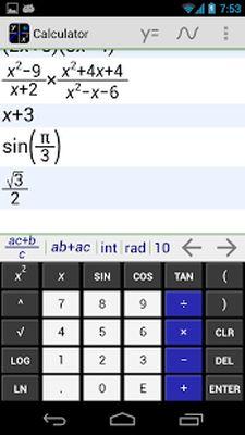 MathAlly Graphing Calculator Screenshot Apk 3