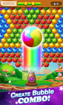 Fruit Bubble Pop Bubble Shooter Juego 1 0 6 Android Descargar Gratis