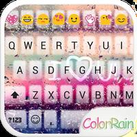 Ikon COLOR RAIN Emoji Keyboard Skin
