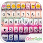 COLOR RAIN Emoji Keyboard Skin 1.9.5