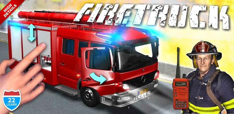 Fire Truck Games for Kids Android - Free Download Fire Truck