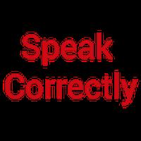 Ícone do Speak English Correctly