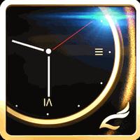 Luxury Clock CM Launcher Theme icon