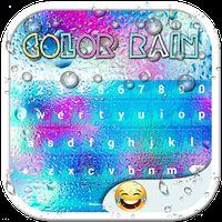 Ícone do Cor Chuva Emoji Teclados