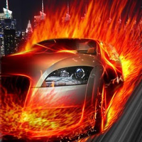 Ícone do 3D Need for Fire Speed LWP