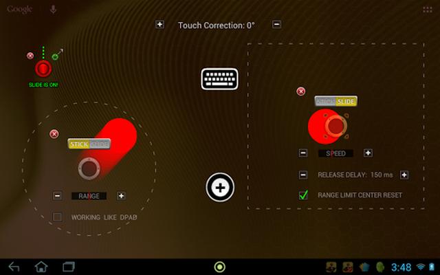 Image 11 of USB / BT Joystick Center GOLD