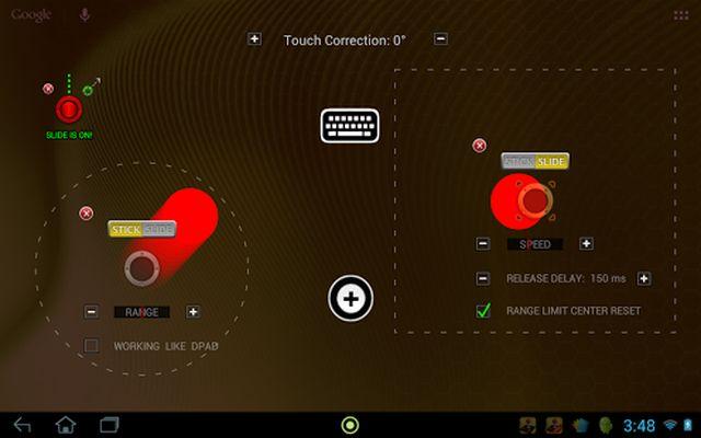 Image 3 of USB / BT Joystick Center GOLD
