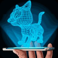 Hologram 3D Cat Simulator APK icon