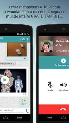Wiper: Private Calls & SMS Screenshot Apk 2