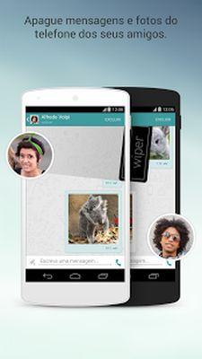 Wiper: Private Calls & SMS Screenshot Apk 4