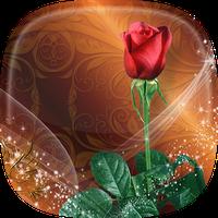 Ícone do Rosas Papel de Parede Animado