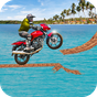 Beach Bike Stunt Rider