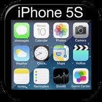 Ícone do apk iPhone Launcher Theme 5S