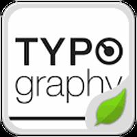 Typo White GOLauncher EX Theme apk icon