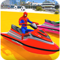 Superheroes Jet Ski Stunts: Top Speed Racing Games 1.0