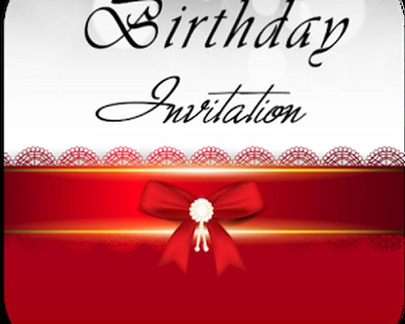 Imagen Birthday Invitation Card Maker 0big