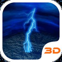 ライトニングストームテック3Dテーマ APK アイコン