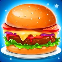 Ikon apk Permainan memasak :Burger Shop