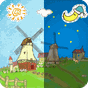 Cartoon Grassland windmill FLW 1.0.4