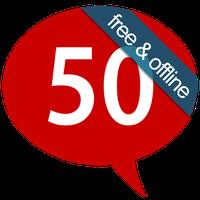 Ícone do Aprender 50 linguas