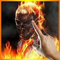 Ícone do apk Ghost Rider Fire Flames LWP