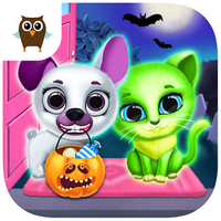 Kiki & Fifi Halloween Salon - Scary Pet Makeover Simgesi