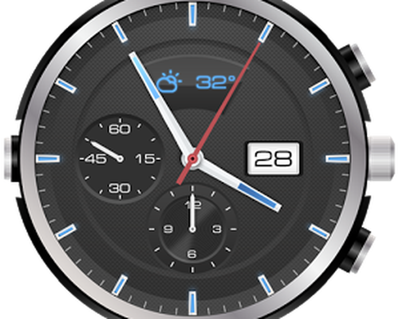 3D Analog Clock Widget
