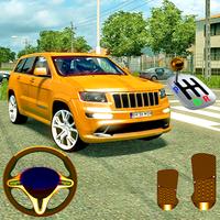 Simulador de coche conductor apk icono