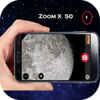 camera zoom moon apk icon