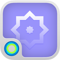 The Blue Forest Hola Theme apk icon