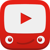 Icône de YouTube Kids