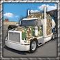 큰 육군 트럭 주차 3D 1.2