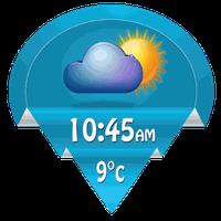 6b02fd03634 Widget relogio digital e tempo Android - Baixar Widget relogio ...