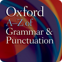 Ícone do Oxford Grammar and Punctuation