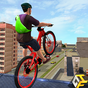 Rooftop BMX Bicycle Stunts 1.3