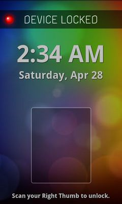 Fingerprint Lock Free screenshot apk 4