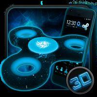 Fidget Spinner Space 3D Theme apk icon