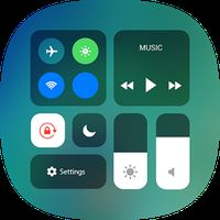 Control Center iOS 11 - Phone X Control Panel APK Icon