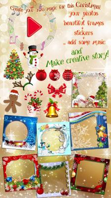 christmas video maker image 2