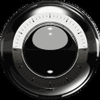 Ícone do apk Luxo preto 3D tema GO