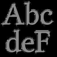 Ícone do apk Clean para FlipFont® livre