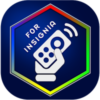 Icono de Control remoto de TV  Insignia