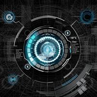 블랙 메카닉 아톰 테마의 apk 아이콘
