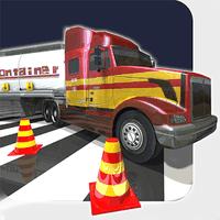 Biểu tượng Big Rig lăn xe tải đậu xe