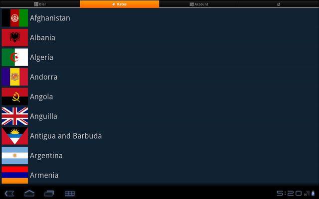 tablet call screenshot apk 1