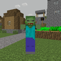 ZombieTown Minecraft Wallpaper Simgesi