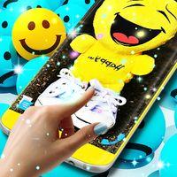 Ícone do Emoji live wallpaper