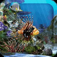 Ícone do apk 3D Aquarium Live Wallpaper HD